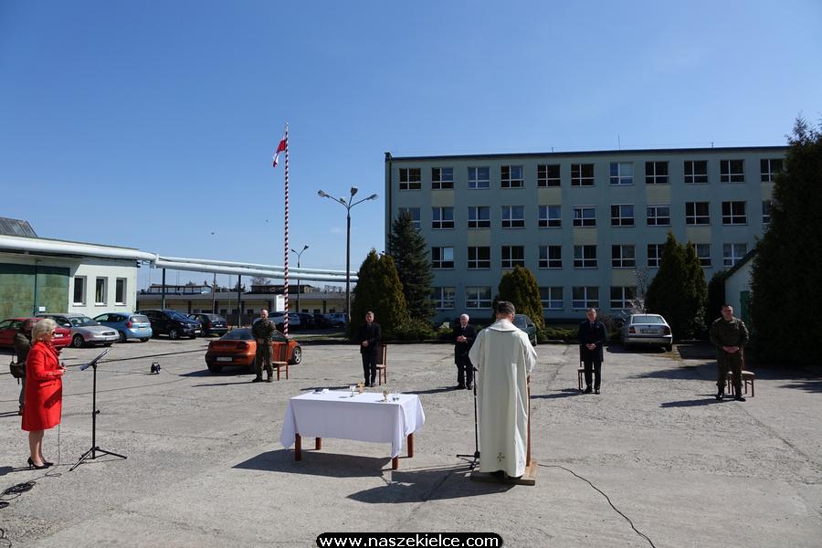 Msza Święta w koszarach 10. ŚBOT 12.04.2020