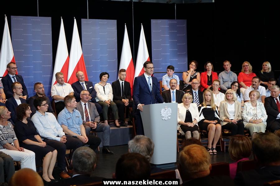 Premier Morawiecki w regionie 12.05.2018