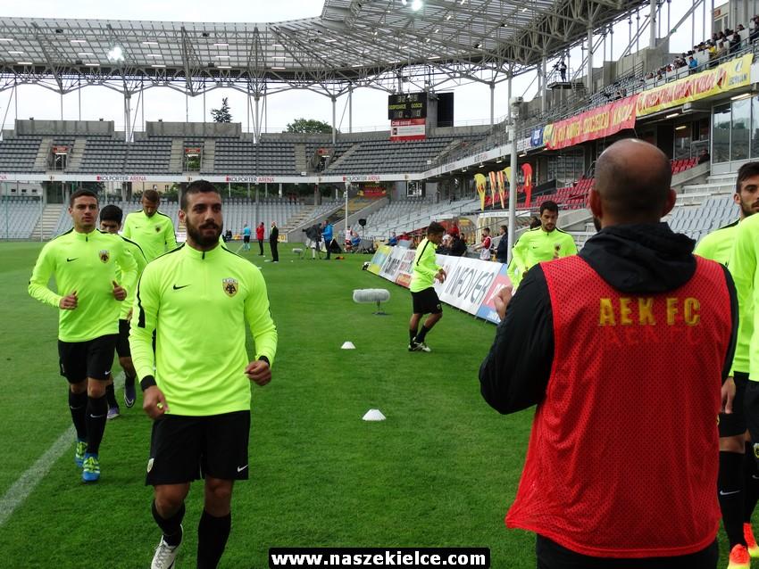 Prezentacja Korony i sparing z AEK Ateny