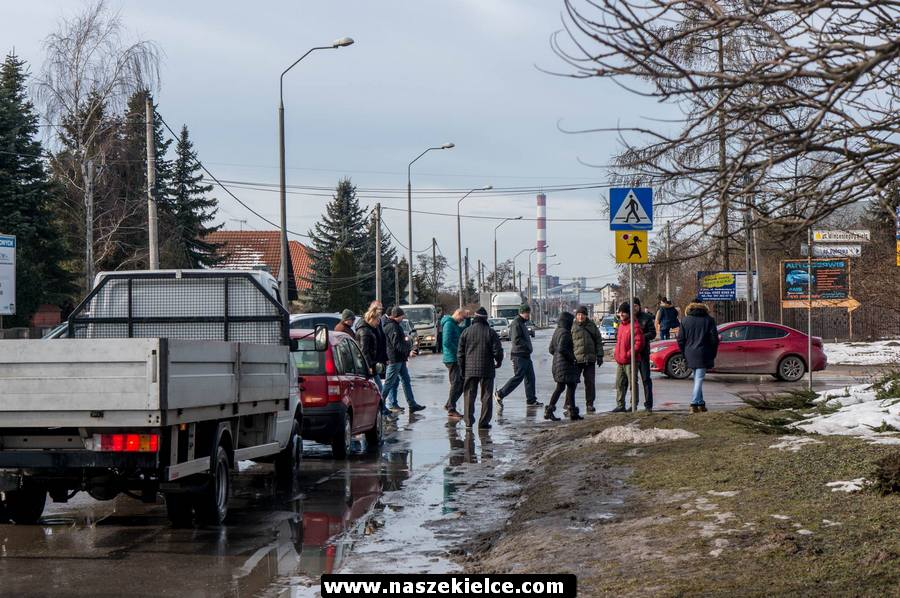 Protest na ulicy Witosa 02.02.2019