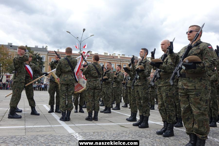 Przysięga wojskowa żołnierzy 10. Świętokrzyskiej Brygady WOT 23.09.2018