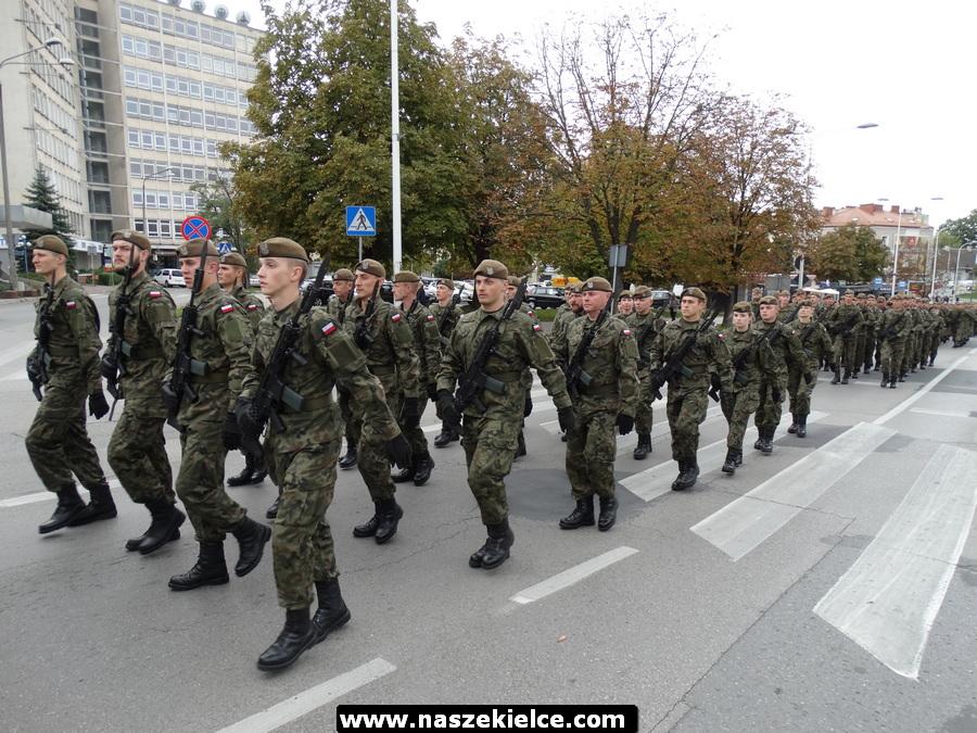 Przysięga wojskowa Terytorialsów na Placu Wolności 21.09.2019
