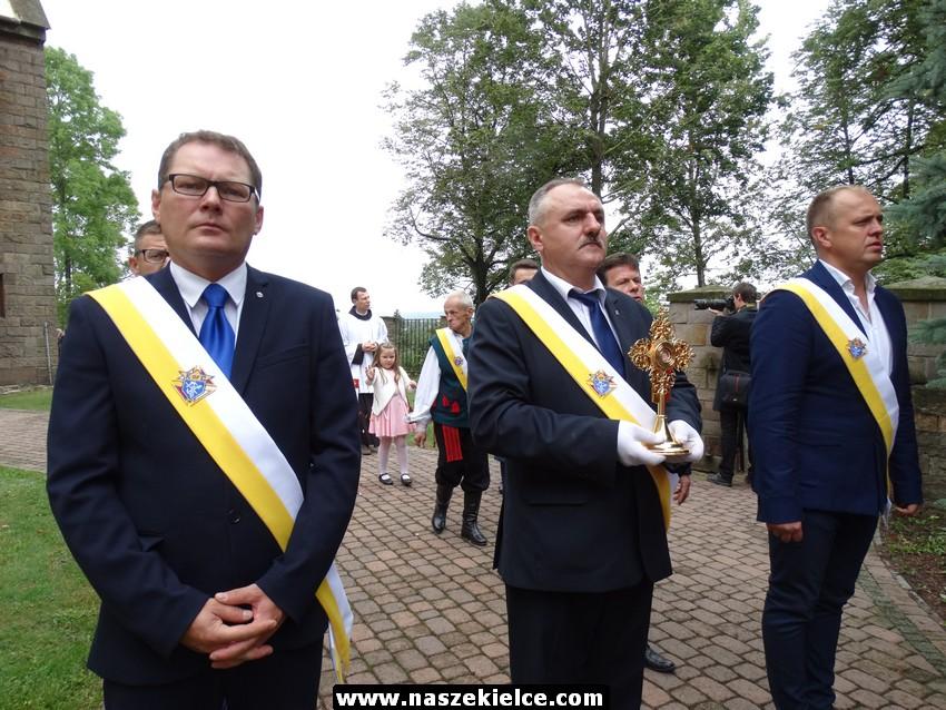 Relikwie Krwi Świętego Jana Pawła II w Zagnańsku 03.09.2017