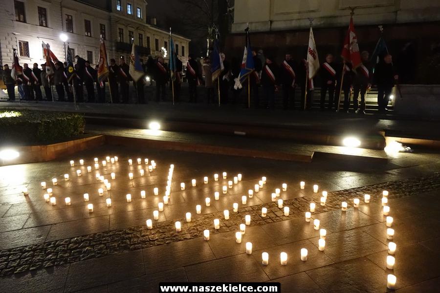 Kielczanie pamiętali o rocznicy wybuchu stanu wojennego