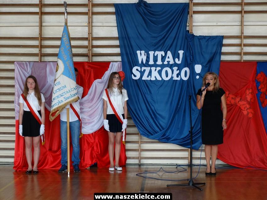 Rozpoczęcie roku szkolnego w SP 31 w Kielcach 04.09.2017