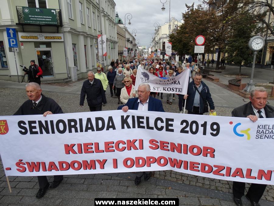 Senioriada w Kielcach 21.09.2019