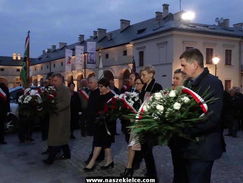 Smoleńskie spotkanie pro memoria w Kielcach 09.04.2017