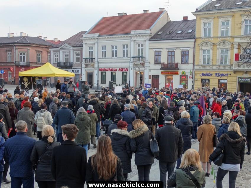 Strajk kobiet w Kielcach 08.03.2017.