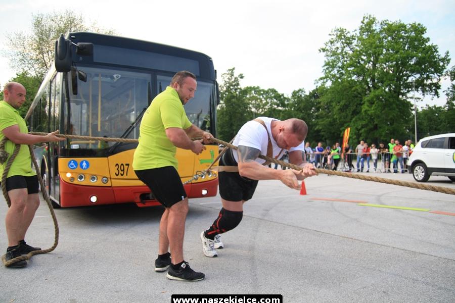 Otwarte Mistrzostwa Polski Strongmenów w Kielcach 25.05.2019