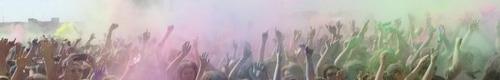 kielce wiadomości Kolorowa impreza na dachu Galerii Korona - za nami Festiwal Ko