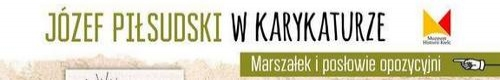 kielce kultura Karykatury marszałka Piłsudskiego na Rynku