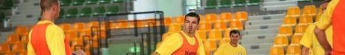 kielce sport Zawodnicy Vive Tauron Kielce przeprowadzili pierwszy trening do now