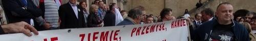 kielce wiadomości Awantura po wiecu Prezydenta Komorowskiego w Kielcach (video)