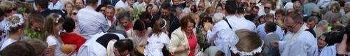 kielce wiadomości Tłumy kielczan uczestniczyły w procesji Bożego Ciała (zdjęcia,