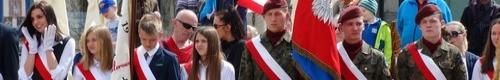 kielce wiadomości Kielczanie uczcili Dzień Flagi (zdjęcia)
