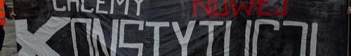"""kielce wiadomości Maszerowali po """"nową konstytucję"""". Prowadził ich poseł Liroy ("""