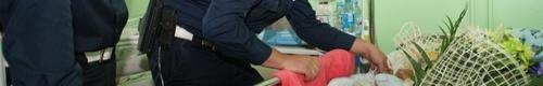 kielce wiadomości Niecodzienna akcja kieleckich policjantów – pomogli rodzącej k