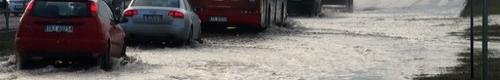 kielce wiadomości Powódź na ulicy Krakowskiej po awarii wodociągu (zdjęcia,video