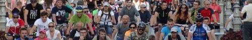 kielce wiadomości Przejechali na znak protestu (video)