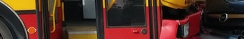 kielce wiadomości Kierowca autobusu staranował 13 aut i zmarł w szpitalu