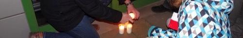 """kielce wiadomości Minuta ciszy i zapalone świeczki dla """"konającej demokracji"""" -"""