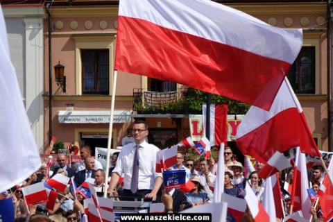 kielce wiadomości Premier Morawiecki na rolniczej konwencji PiS w Sandomierzu (ZDJĘCIA,WIDEO)