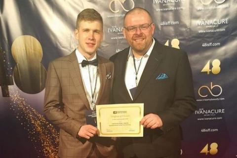 kielce wiadomości Kielczanin nagrodzony w Hollywood