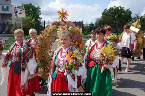 kielce wiadomości Gminy Bieliny świętowała dożynki (ZDJĘCIA,WIDEO)