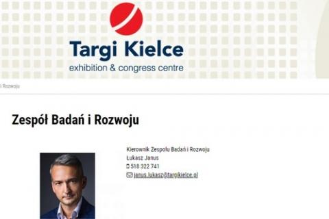 kielce wiadomości Fotograf prezydenta Wenty z kampanii mianowany kierownikiem w Targach Kielce