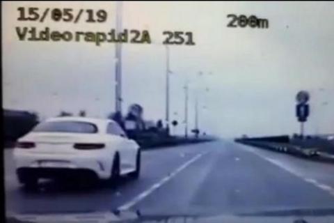 kielce wiadomości Kielczanin jechał przez miasto Mercedesem ponad 180 kh na godzinę