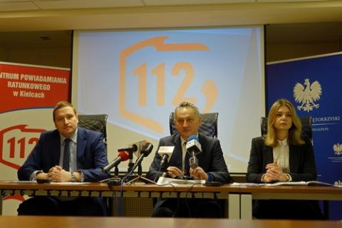 kielce wiadomości Tysiące połączeń z numerem alarmowym. CPR w Kielcach posumował 2019 rok