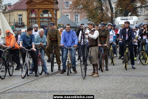 kielce wiadomości Rowerzyści rozpoczęli Europejski Tydzień Zrównoważonego Transportu (ZDJĘCIA,WIDEO)