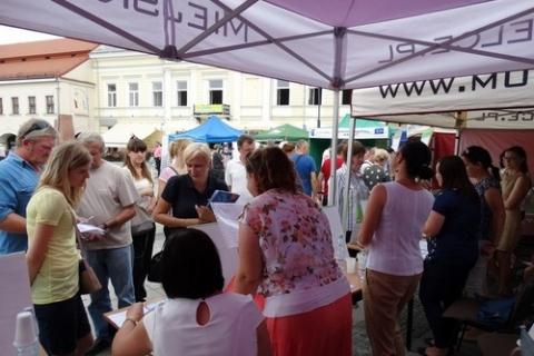 kielce wiadomości Plenerowe Targi Pracy na Rynku w Kielcach