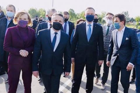 kielce wiadomości Prezydent Andrzej Duda odwiedził Grzybów i Staszów