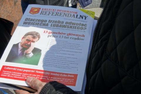 kielce wiadomości Prezydent Kielc przegrał w sądzie z organizatorem referendum
