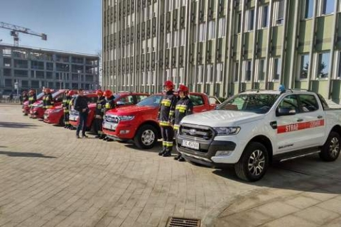 kielce wiadomości Nowe samochody i łodzie dla strażaków (ZDJĘCIA)