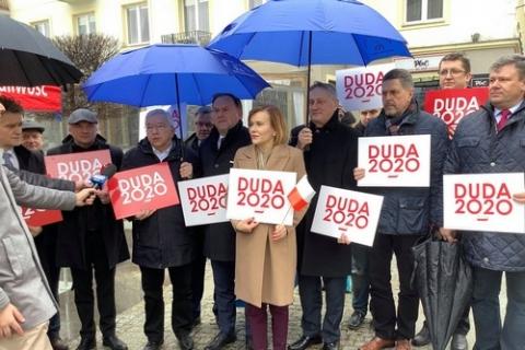 kielce wiadomości Ruszyła zbiórka podpisów poparcia dla Andrzeja Dudy