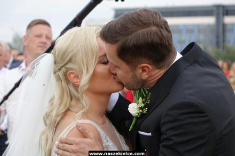 kielce wiadomości Co to był za ślub. Kamil Suchański i Katarzyna Kwietniak małżeństwem (ZDJĘCIA,WIDEO)