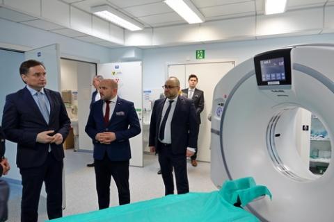 kielce wiadomości Minister Ziobro odwiedził szpital na Czarnowie