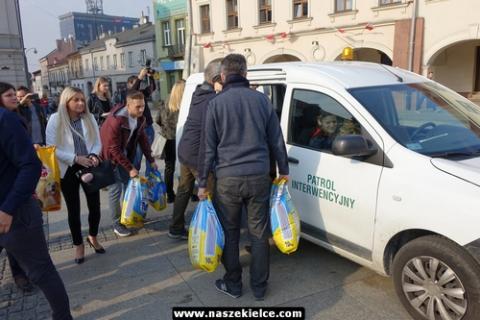 kielce wiadomości Kampania zakończona zbiórką karmy dla schroniska (ZDJĘCIA,WIDEO)