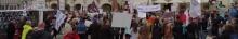 kielce wiadomości KOD i Razem protestowali przeciwko wystawie na Rynku (zdjęcia,