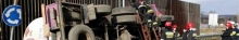 kielce wiadomości Niebezpieczny wypadek autocysterny w Cedzynie