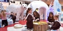 kielce wiadomości Duże zainteresowanie lodową wioską w Galerii Echo