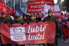 kielce wiadomości Szlachetna Paczka rozpoczęta marszem (ZDJĘCIA,WIDEO)