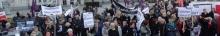 kielce wiadomości Nie składają parasolek. Kobiety strajkowały na Rynku w Kielcac