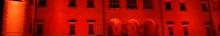 kielce wiadomości Barwnie oświetlili Pałac Biskupów (zdjęcia,video)