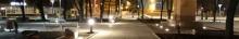 kielce wiadomości Podświetlili okolice WDK-u (zdjęcia)