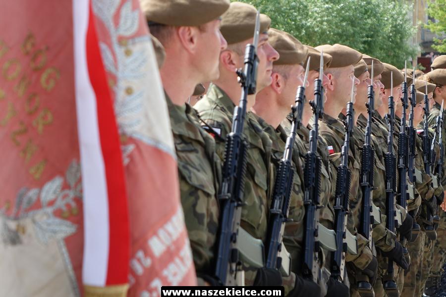Pierwsze święto 10.Świętokrzyskiej Brygady Obrony Terytorialnej 16.06.2019