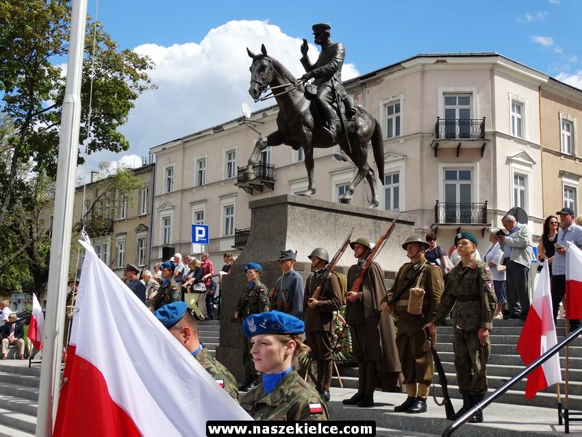 Kieleckie obchody Święta Wojska Polskiego