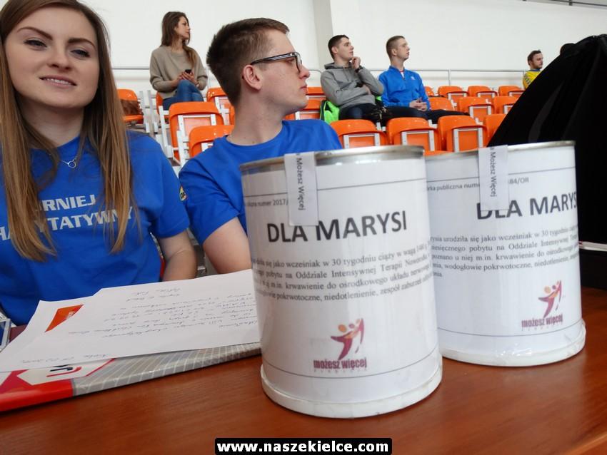 Turniej charytatywny dla Marysi 05.02.2017